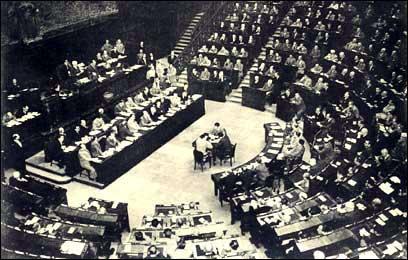 la prima seduta dell'Assemblea Costituente