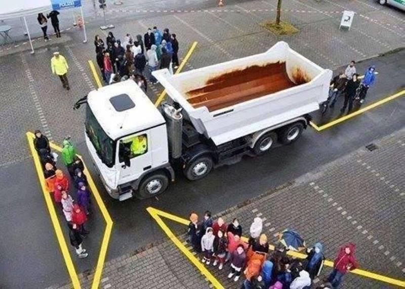 angolo cieco camion