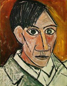 Picasso autoritratto