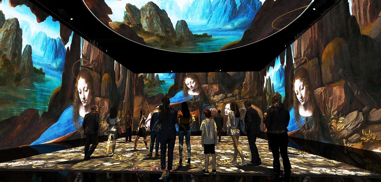 mostra Leonardo 3D