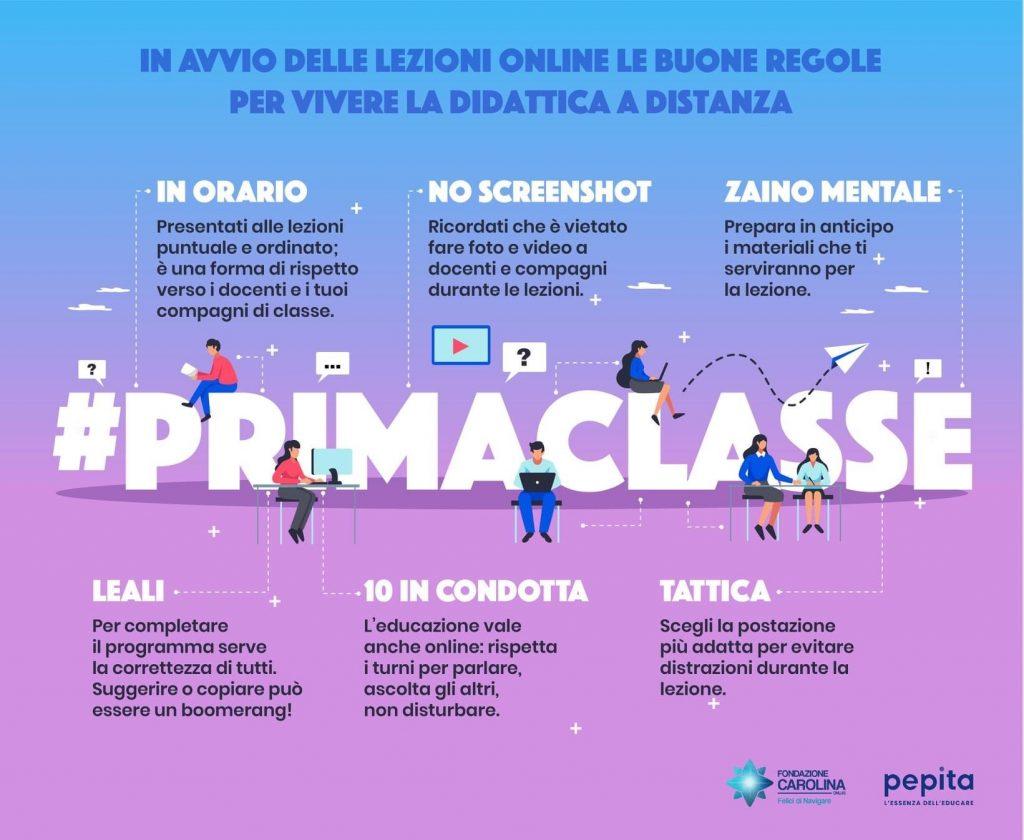 #primaclasse