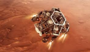 perseverance in missione su Marte