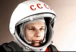 primo uomo nello spazio