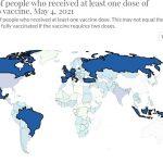 vaccinati al mondo