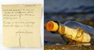 Titanic e il messaggio in bottiglia